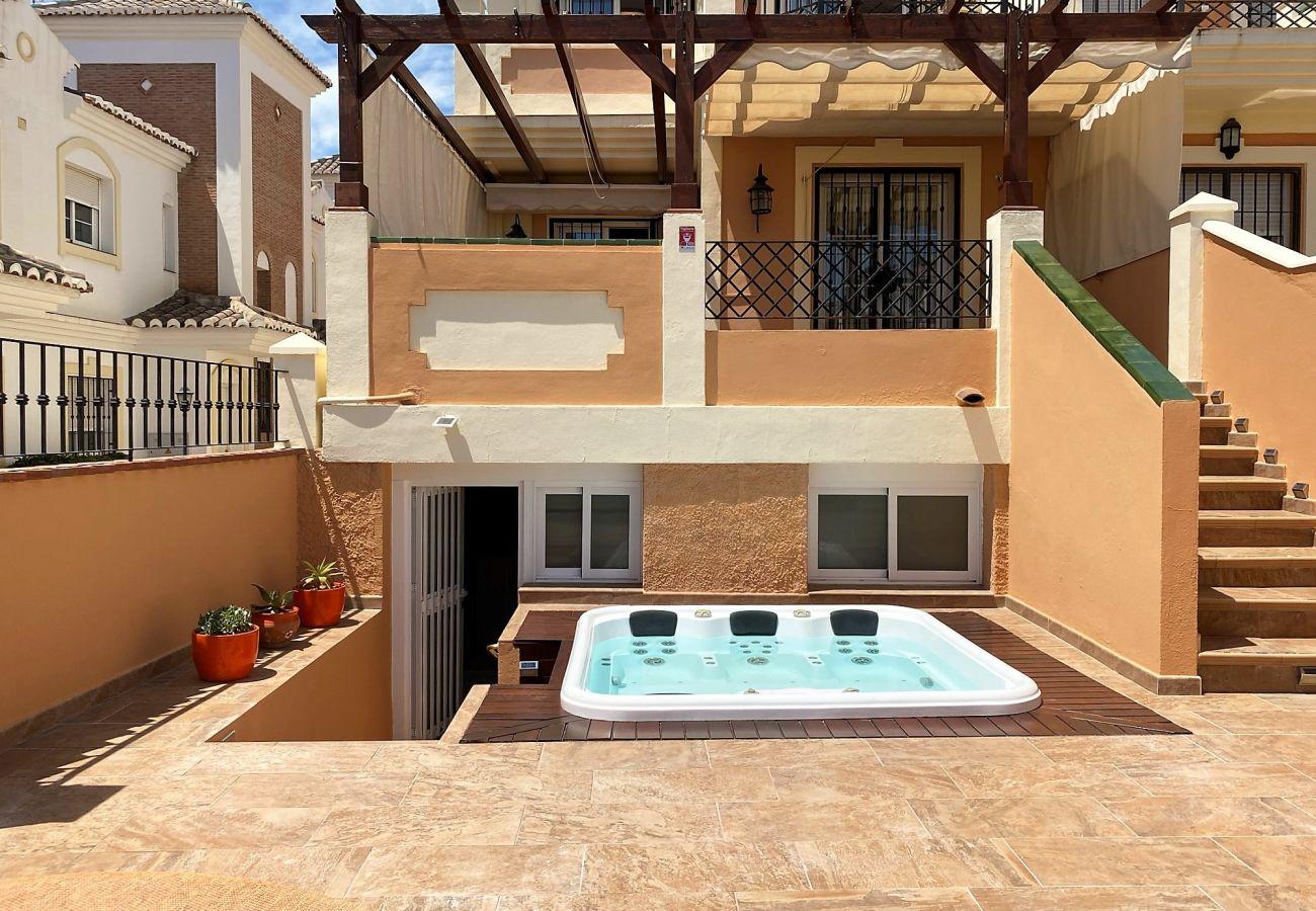 Villa en Nerja - Villa Jacuzzi Noria Casasol